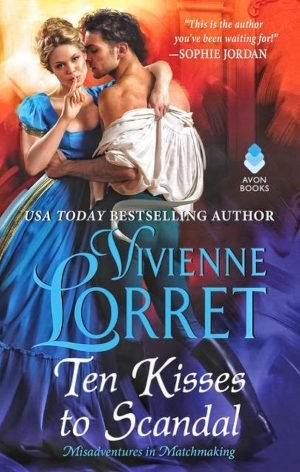 Review: Ten Kisses to Scandal by Vivienne Lorret