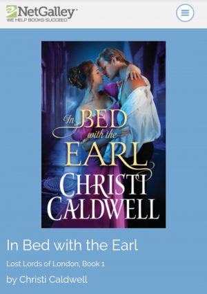 Review: In Bed with the Earl by Christi Caldwell