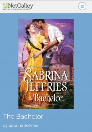 Review: The Bachelor by Sabrina Jeffries