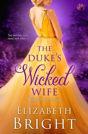 Review: The Duke's Wicked Wife by Elizabeth Bright