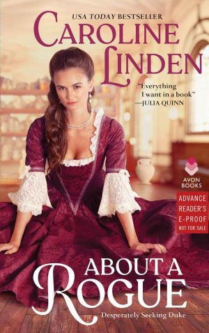 Review: About a Rogue by Caroline Linden